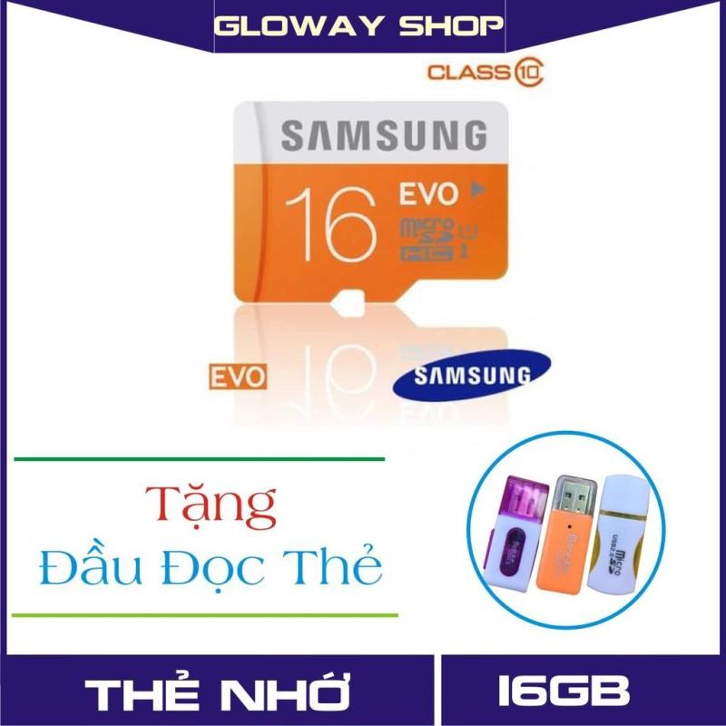 Thẻ Nhớ Sam Sung 80MB/S 16GB EVO Plus 10 Micro SDXC 16GB - Bảo hành 5 năm!