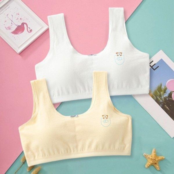 Áo lót nữ học sinh áo lá học sinh cho bé gái từ 30-50kg co giãn tốt hàng đẹp