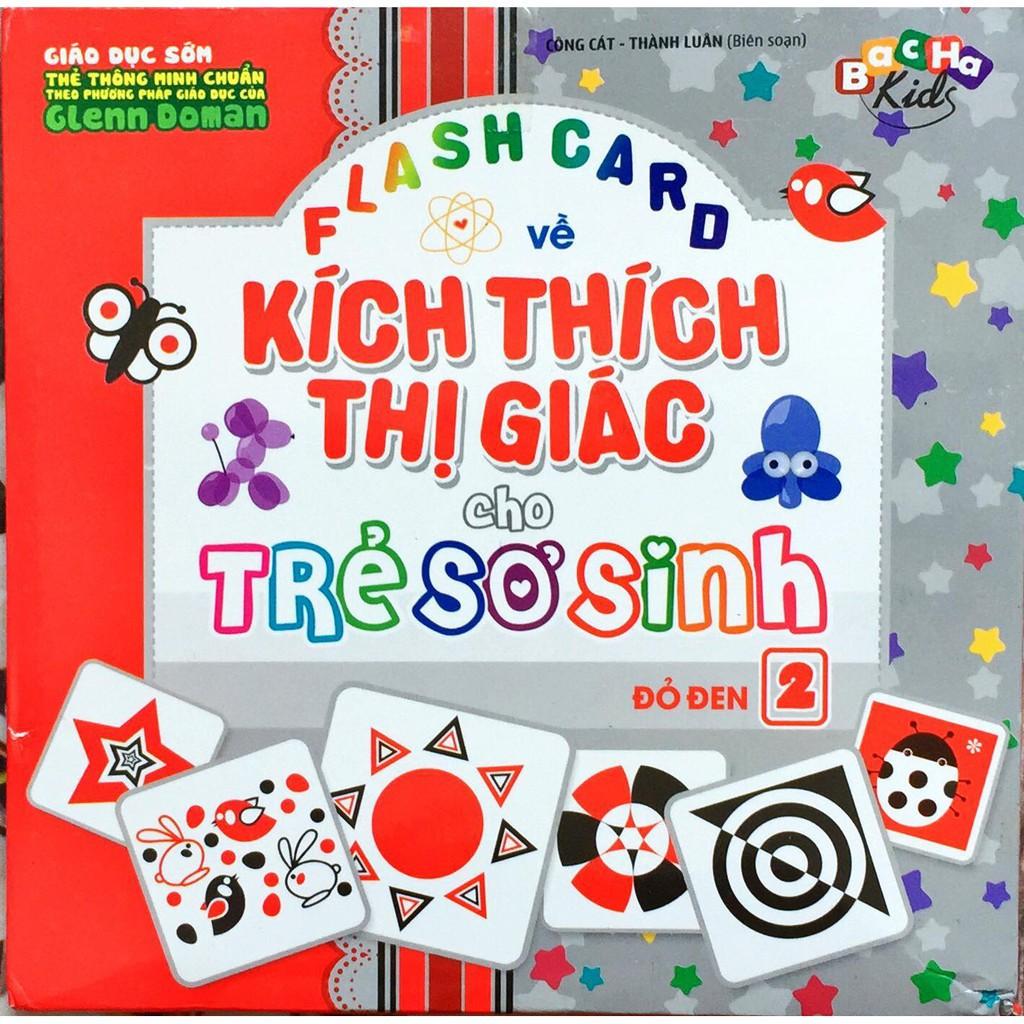 Voucher tại Lazada cho Flash Card - Thẻ Kích Thích Thị Giác Cho Trẻ Sơ Sinh, Flashcard Phát Triển Trí Tuệ Trẻ Em, Chất Liệu 60 Thẻ Bìa Mềm Tập 2 - Màu Đỏ Đen