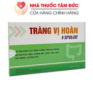 TRÀNG VỊ HOÀN VIPHAR giảm viêm đại tràng, rối loạn tiêu hóa, đầy bụng - Hộp 30 viên thumbnail