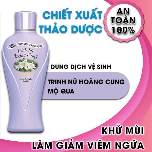 Dung dịch vệ sinh phụ nữ chiết xuất từ cây trinh nữ hoàng cung giúp khử mùi giảm viêm ngứa Thebol 150g giá rẻ