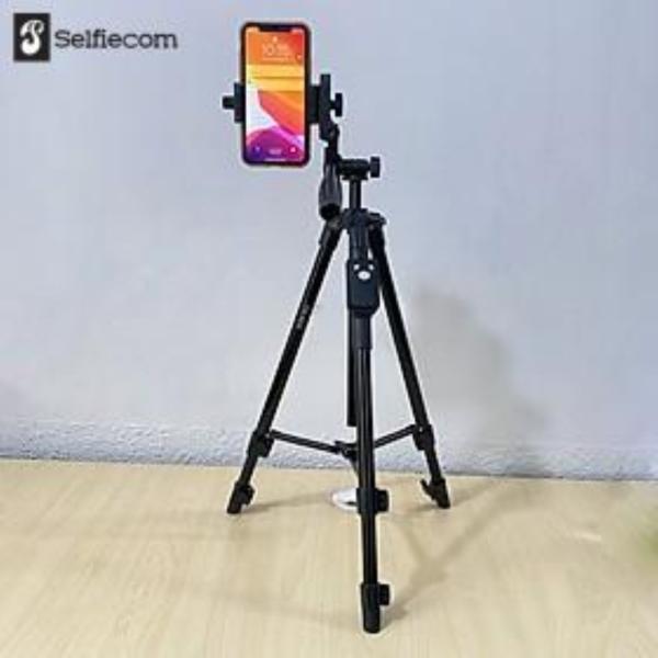 Chân đế tripod dùng cho điện thoại và máy ảnh Selfiecom TTX-6218 - Có Remote chụp ảnh và túi đựng tiện lợi