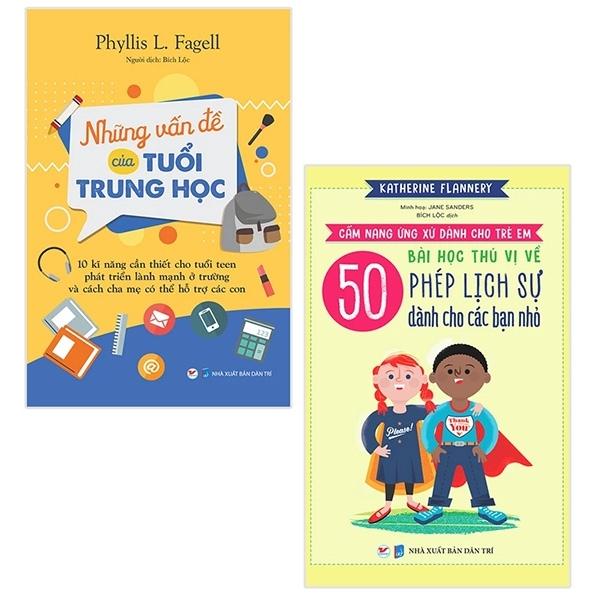 Mua Fahasa - Bộ Sách Những Vấn Đề Của Tuổi Trung Học + 50 Bài Học Thú Vị Về Phép Lịch Sự Dành Cho Các Bạn Nhỏ (Bộ 2 Cuốn)