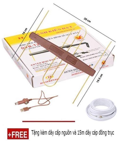 Bảng giá Anten kỹ thuật số DVB T2 có mạch khuếch đại Tặng kèm dây cấp nguồn và 15m dây cáp đồng trục Điện máy Pico