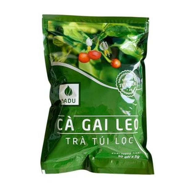 1 bịch Trà túi lọc cà gai leo 250g, sản phẩm tự nhiên 100% giá rẻ
