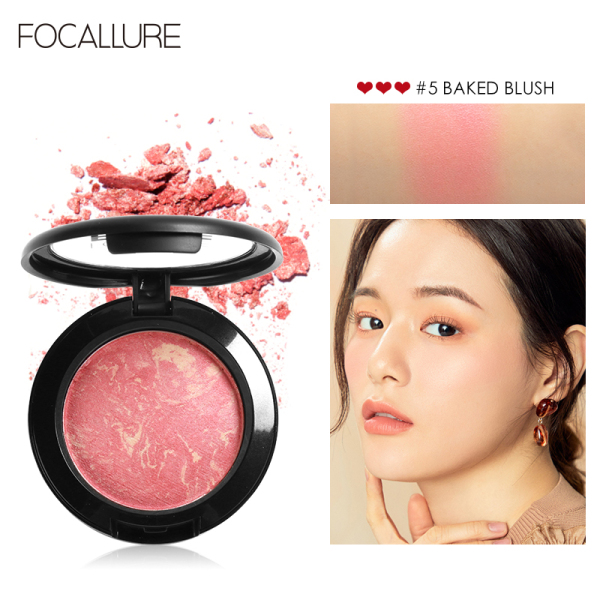 FOCALLURE 6-color anti-clumping makeup powder 7.5g 7.5g giá rẻ