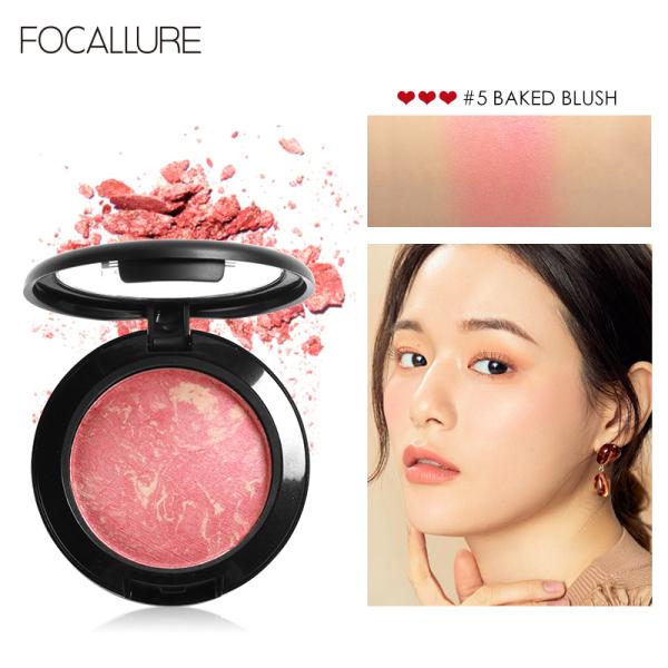FOCALLURE 6-color anti-clumping makeup powder 7.5g 7.5g giá rẻ