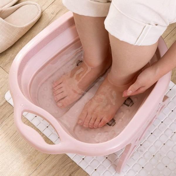 Chậu ngâm chân massage thư giãn gấp gọn tiện dụng