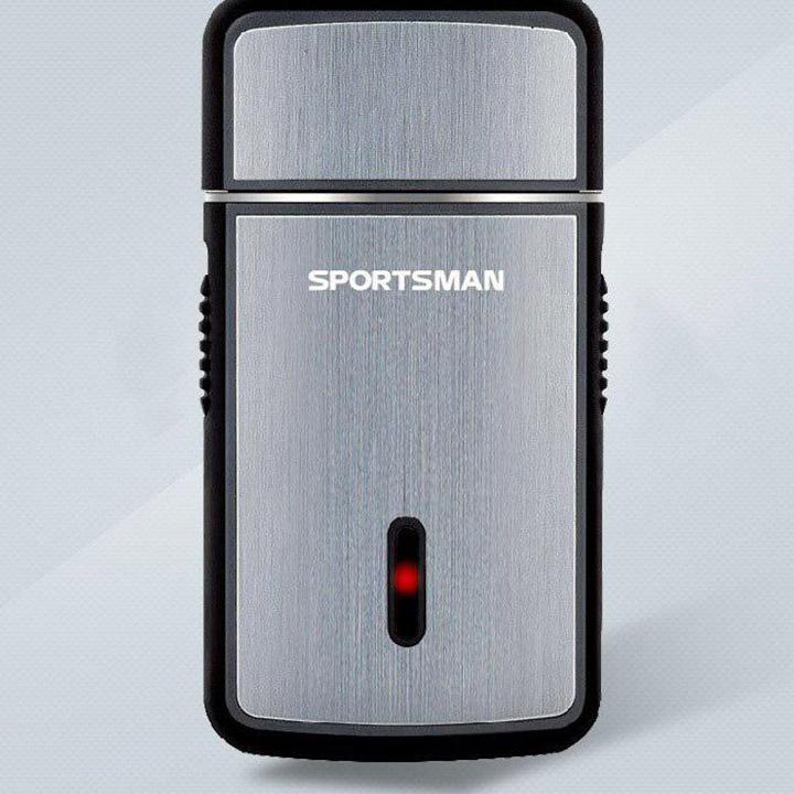 Máy cạo râu mini. dao cạo râu đa năng loại sạc pin cho Nam  Sportman [có kèm theo cáp sạc] tốt nhất