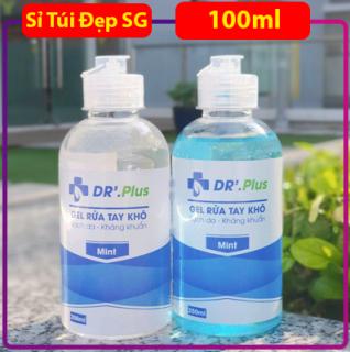 [HCM]Nước Gel rửa tay khô sạch da kháng khuẩn mini 100ml - Sỉ Túi Đẹp SG thumbnail