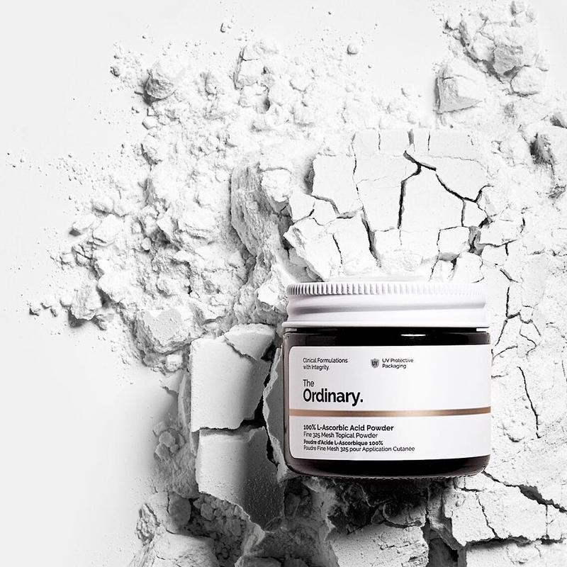 The Ordinary. 100% L-Ascorbic Acid Powder Bột Vitamin C Làm Sáng Da Mờ Thâm Đều Màu Da Tăng Hiệu Quả Kem Chống Nắng Whitening Skin Care