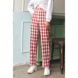 Quần baggy nữ vải đũi xuông cạp chun QAW0413- 92Wear thumbnail