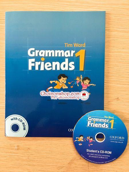 Sách Grammar Friends 1 - ảnh thật Nhật Bản