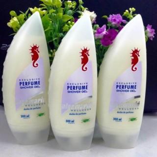 [COMBO 2 CHAI] Sữa tắm cá ngựa Vàng Algemarin Perfume CHUẨN HÀNG ĐỨC chai 300ml - giúp dưỡng ẩm, săn chắc, sáng mịn da thumbnail