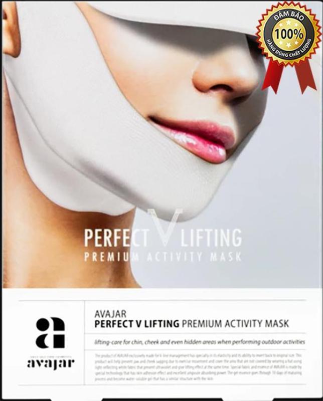 Mặt Nạ Avajar V Line Perfect V Lifting Premium Activity Mask – 1 miếng nhập khẩu