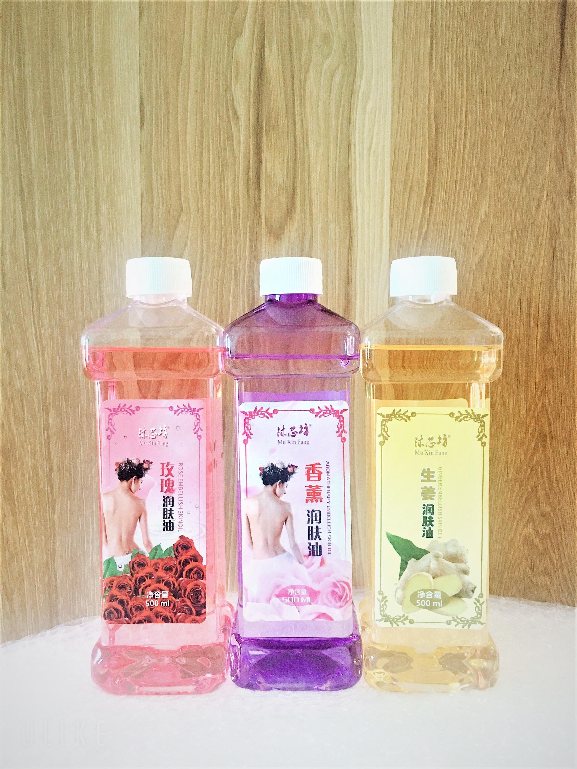 Tinh Dầu massage body hoa hồng, gừng, lavender dùng trong spa, cá nhân