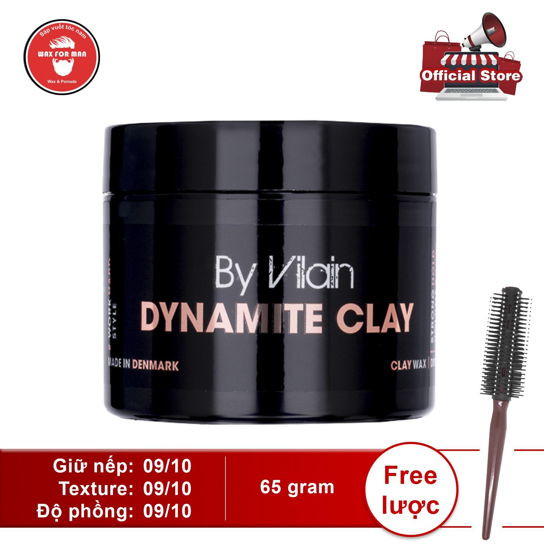 [Tặng lược] Sáp vuốt tóc By Vilain Dynamite Clay
