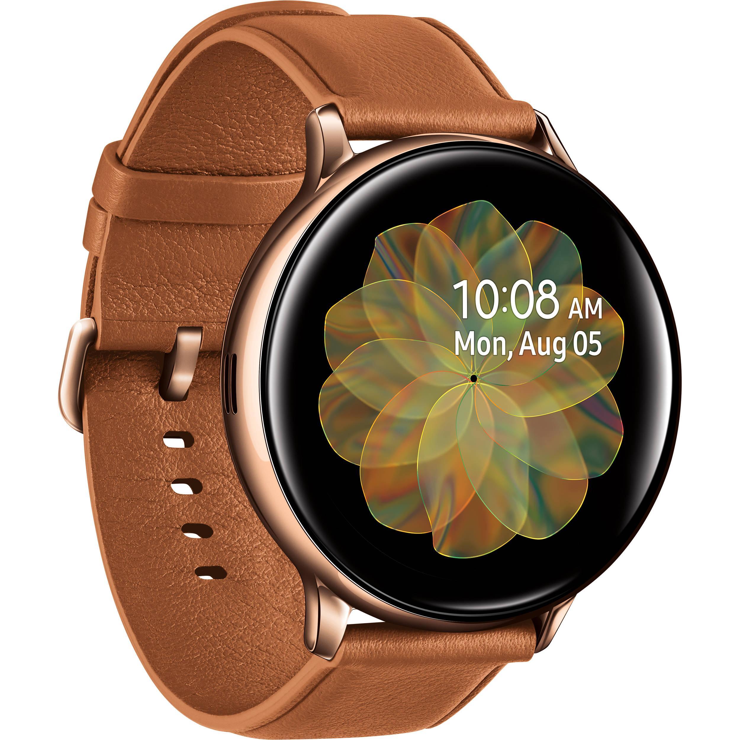 Giảm Giá Ưu Đãi Khi Mua Đồng Hồ Thông Minh Có Youtube Samsung Galaxy Watch Active 2 Mới 100% NOBOX - PHIÊN BẢN THÉP - Stainless Steel