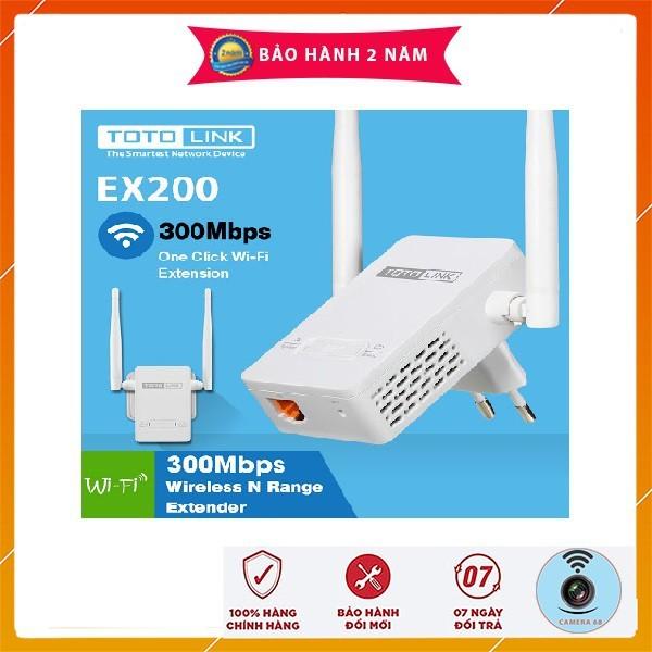 Bảng giá Bộ thu phát sóng wifi Totolink ex200 - [bh 24 tháng], sản phẩm tốt, chất lượng cao, cam kết như hình, độ bền cao, xin vui lòng inbox shop để được tư vấn thêm Phong Vũ