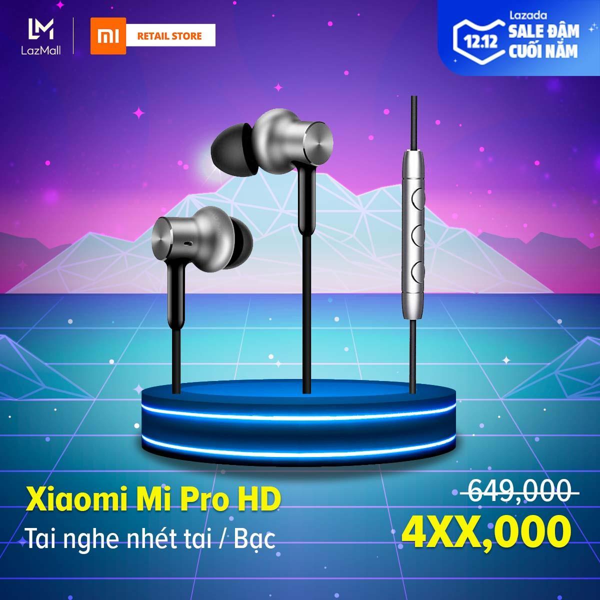[HÀNG CHÍNH HÃNG] Tai nghe nhét tai Xiaomi Mi Pro...