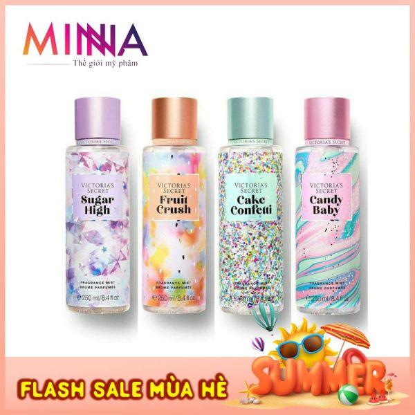 Xịt Thơm Toàn Thân Body Mist Victorias Secret 250ml - BẢN GIỚI HẠN Mùi Thơm Hoa Quả Nhiệt Đới!