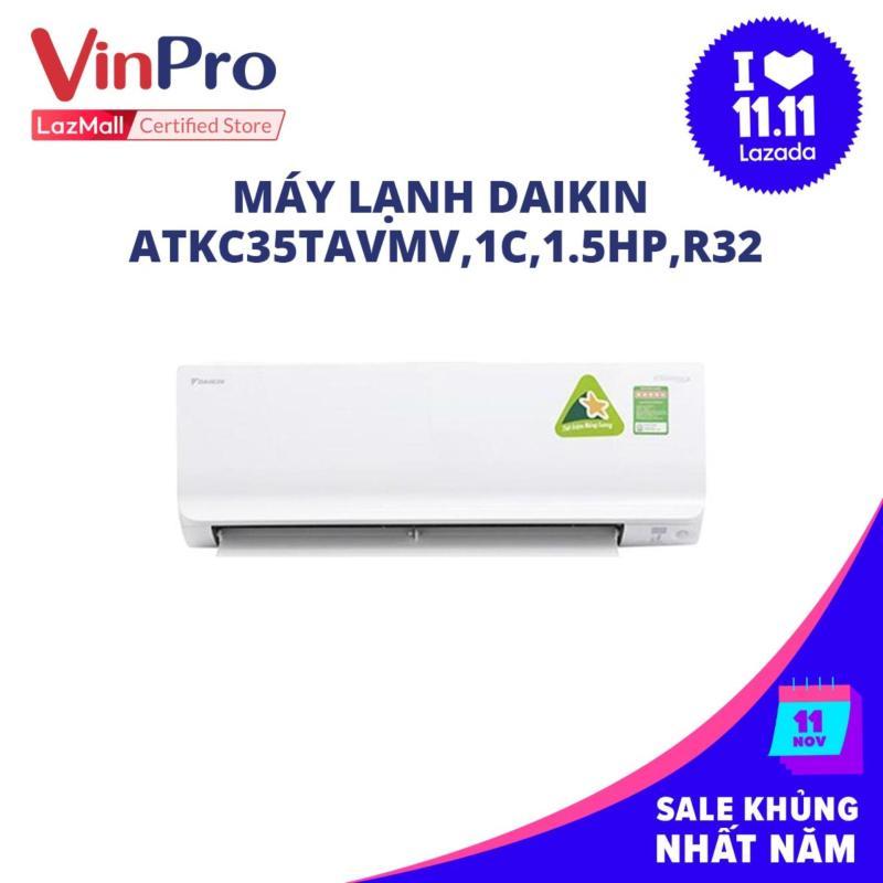 Bảng giá Máy lạnh Daikin ATKC35TAVMV,1C,1.5HP,R32