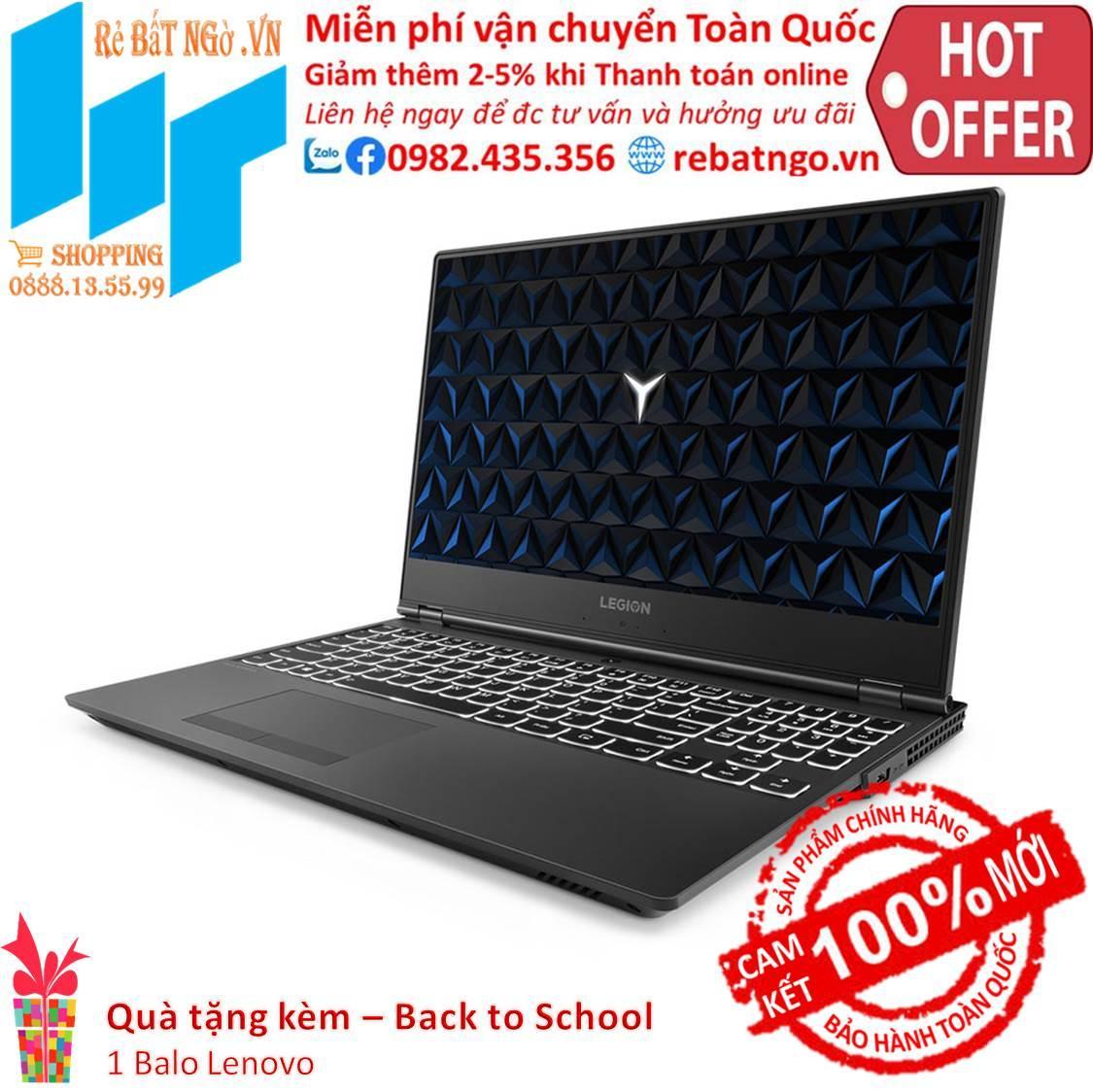 Laptop Lenovo Legion Y530 81FV00SUVN 15.6 inch FHD-i7 8750-8GB-1TB HDD-GTX 1050-Free DOS-2.3 kg