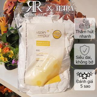 [Hàng Pháp] Bông tẩy trang pháp Tetra medical 500-600 miếng [DATE 2026] thumbnail