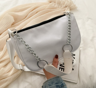 Túi đeo vai nữ, kẹp nách da mềm trơn siêu xinh BH 433 thumbnail