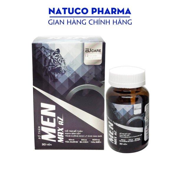 Viên uống bổ thận, tăng cường sinh lý MEN MAX AZ- Thành phần từ Hàu biển, ba kích, tỏa dương an toàn, hiệu quả - hộp 30 viên chuẩn GMP bộ y tế