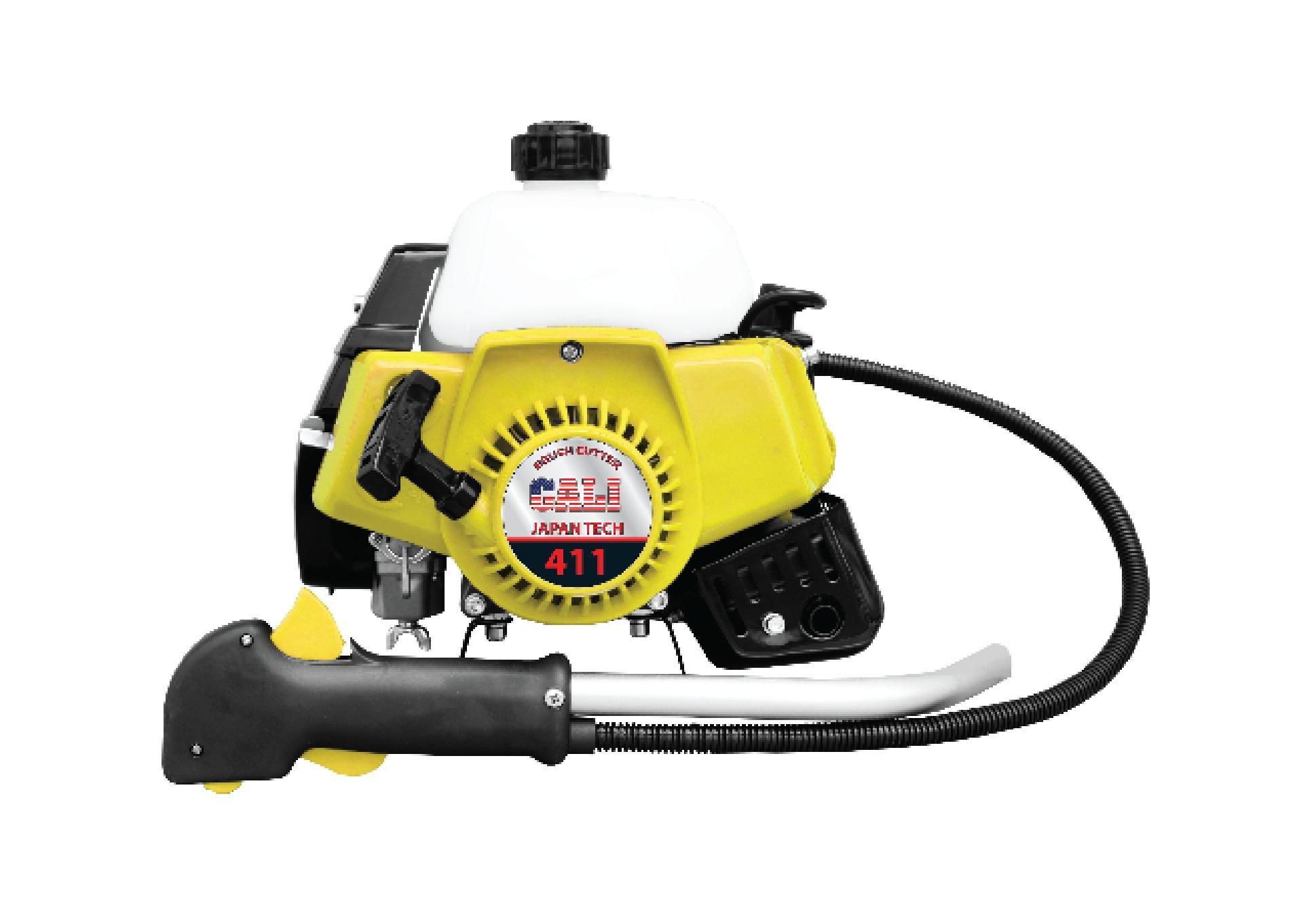 Đầu máy cắt cỏ mini cầm tay Cali 411, C/S 1.45 KW, Dung tích 40.2 cc