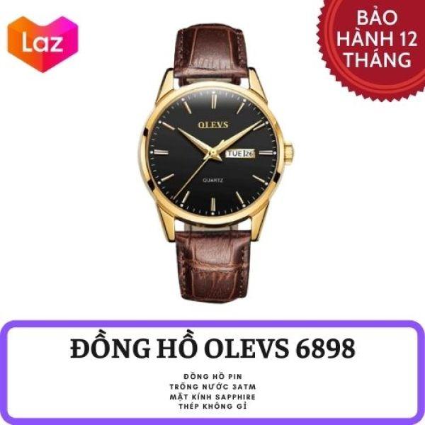Đồng Hồ Nam OLEVS Dây Da Cao Cấp - Hiển Thị Lịch Ngày bán chạy
