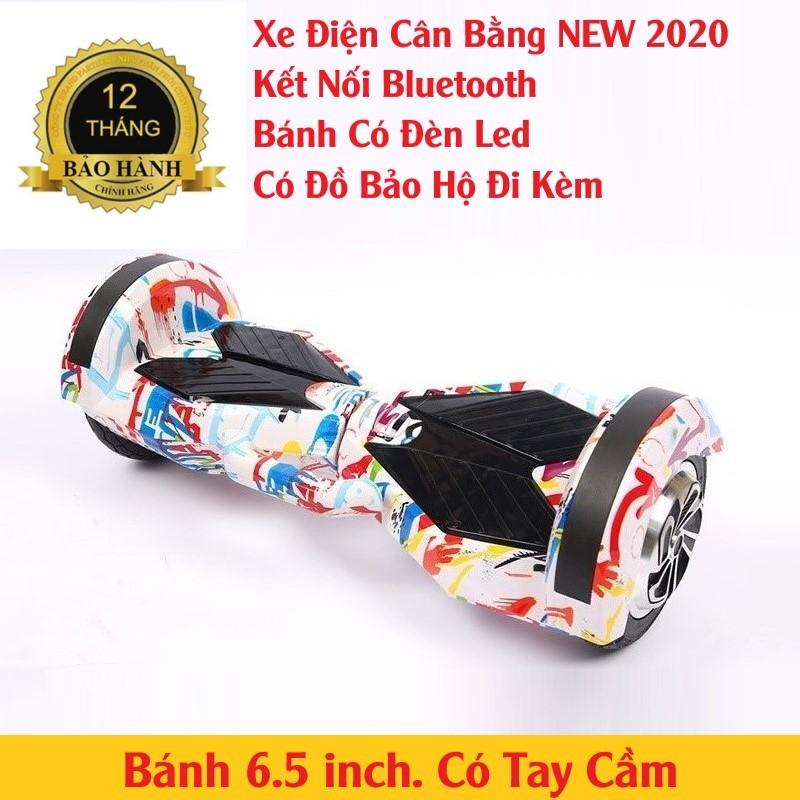 Phân phối Xe Điện Cân Bằng Bánh 6.5 inch (Loa Kết Nối Bluetooth)