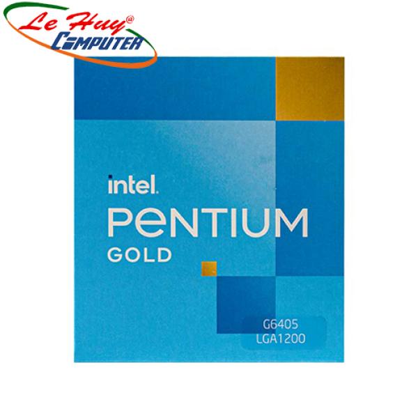 Bảng giá CPU Intel Pentium G6405 – LGA 1200 Box CTY Phong Vũ