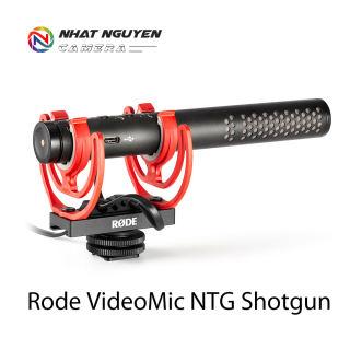 Mic Rode NTG VideoMic - Bảo hành 12 tháng - Micro Rode VideoMic NTG Shotgun