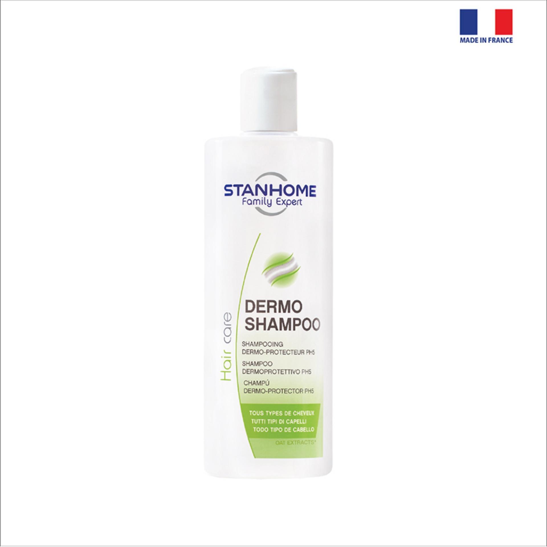 DERMO SHAMPOO STANHOME - Dầu gội không xà phòng PH5 400ml tốt nhất