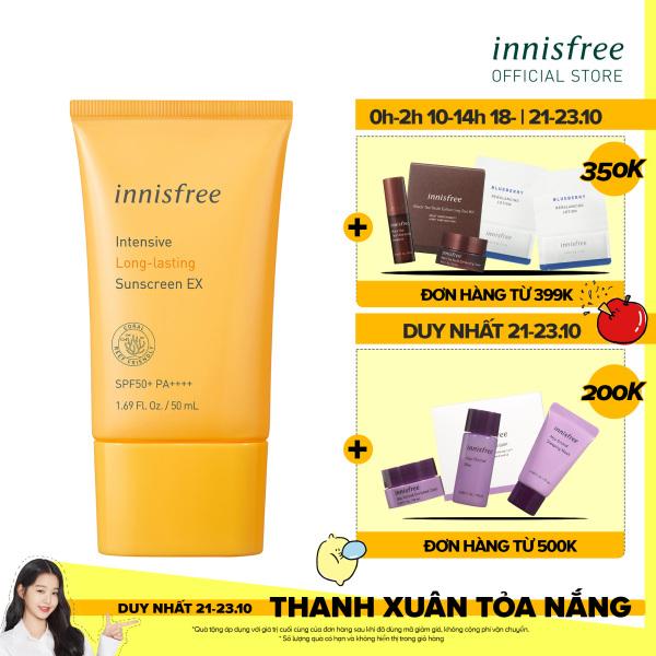 Kem chống nắng lâu trôi innisfree intensive long lasting sunscreen Ex 50ml