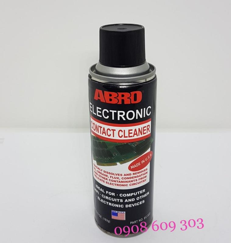 Dung Dịch Vệ Sinh Điện Tử ABRO ELECTRONIC CONTACT CLEANER EC-533 163g