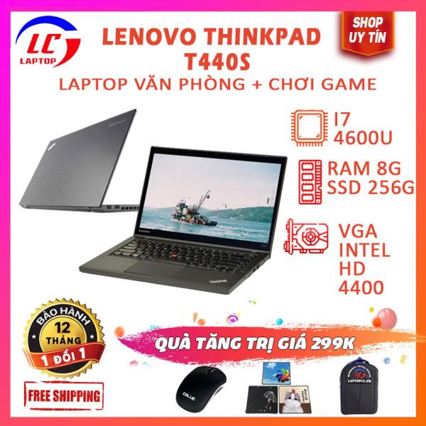 Bảng giá Laptop Văn Phòng, Laptop Chơi Game Giá Rẻ Lenovo Thinkpad T440s, i7-4600U, VGA Intel HD 4400, Màn 14 FullHD, LaptopLC298 Phong Vũ