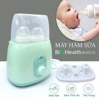Máy hâm sữa tiệt trùng đa năng 2 bình BIOHEALTH BH9210 thumbnail