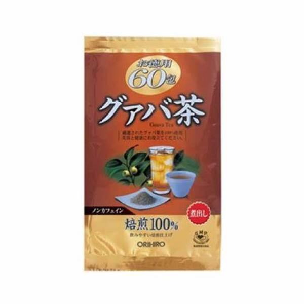 [ Hàng Chính Hãng ] Trà giảm cân lá ổi Orihiro 60 túi lọc Nhật Bản