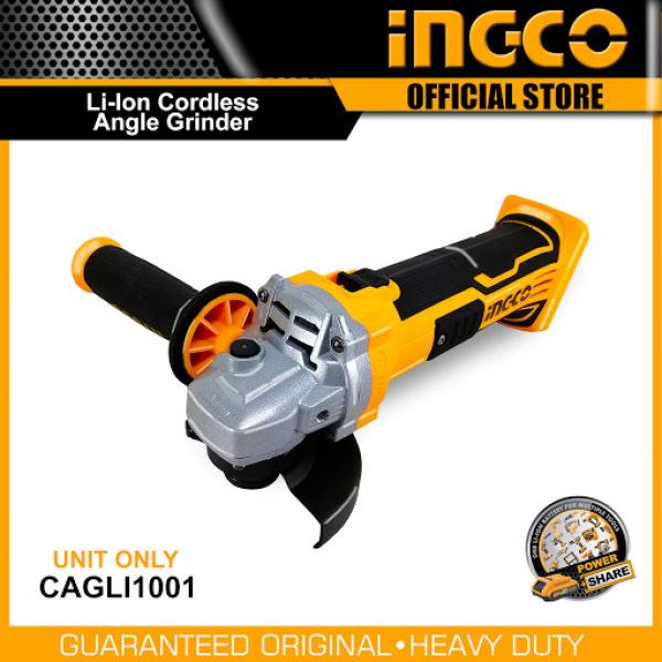 Máy mài góc dùng pin Lithium INGCO - CAGLI1001