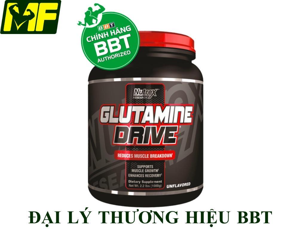 Nutrex Glutamine Drive 1000g - Phục Hồi Cơ Bắp nhập khẩu