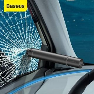 Đèn Pin kiêm búa phá kính thoát hiểm Baseus Savior Window Breaking Flashlight thumbnail