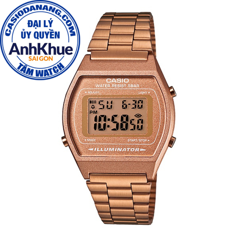 Đồng hồ nữ dây kim loại Casio Standard chính hãng Anh Khuê B640WC-5ADF