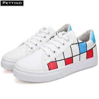 Giày thể thao Nam, đế bằng cổ thấp nhẹ nhàng, thoải mái, cá tính PETTINO - LLGV05 thumbnail