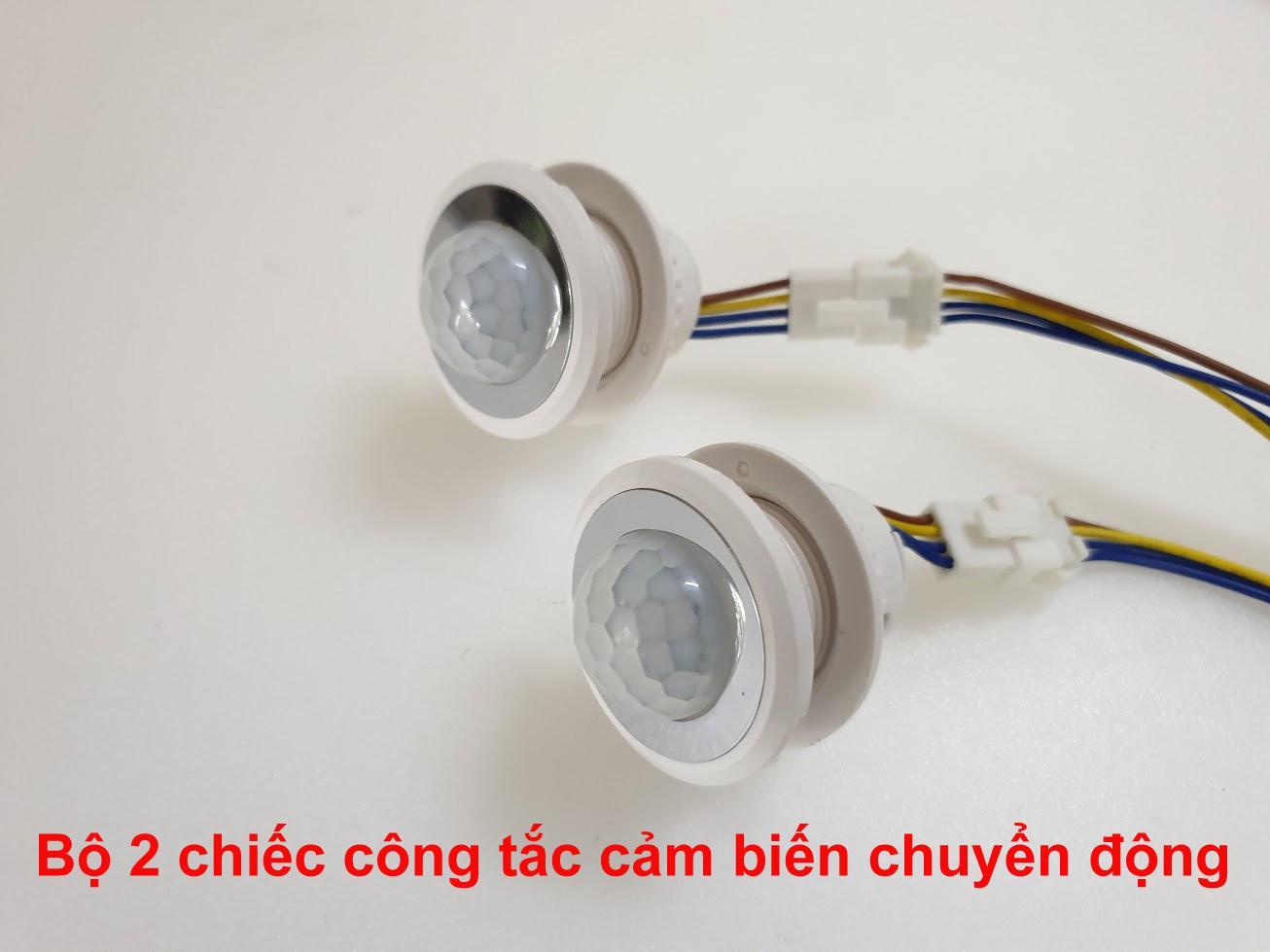 Bộ 2 Chiếc công tắc cảm biến chuyển động hồng ngoại, vnled, vietnamled, 0936395395