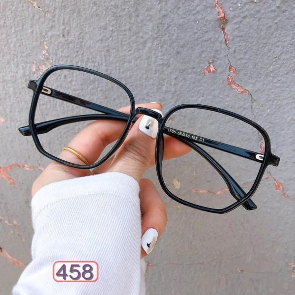 Giá bán Mắt Kính Giả Cận RETRO Mắt Biếc 458 Phong Cách Hàn Quốc