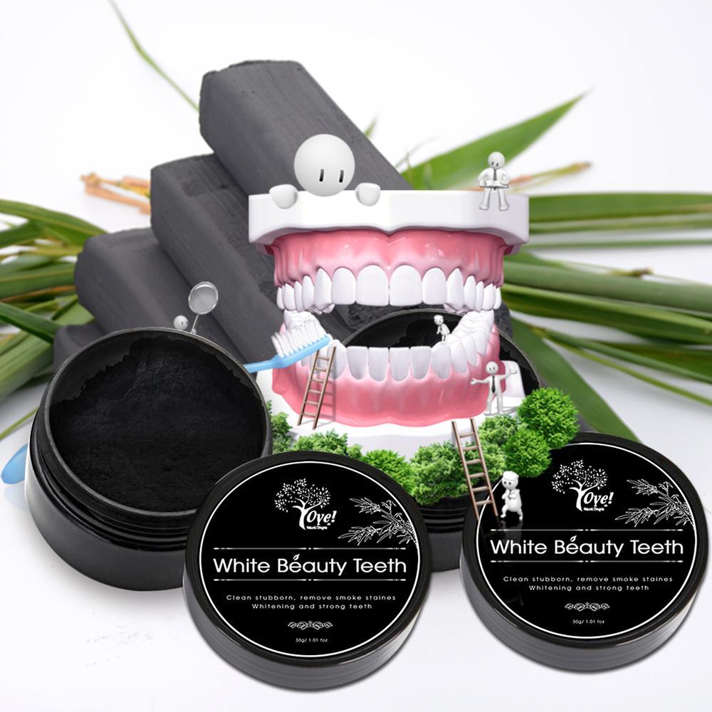 Bột Than Hoạt Tính Làm Trắng Răng White Beauty Teeth 30g