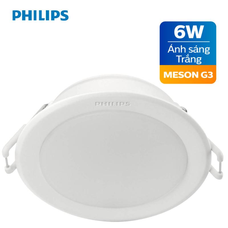 Đèn LED Downlight Âm Trần  PHILIPS MESON G3 (594xx) - Chất lượng ánh sáng đồng đều , độ bền cao.
